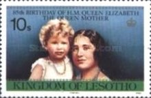 [The 85th Anniversary of the Birth of Queen Elizabeth the Queen Mother, 1900-2002, Typ RY]