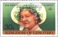 [The 85th Anniversary of the Birth of Queen Elizabeth the Queen Mother, 1900-2002, Typ RZ]