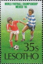 [Football World Cup - Mexico 1986, Typ TX]