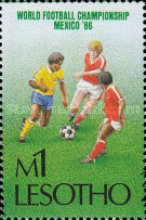 [Football World Cup - Mexico 1986, Typ TZ]