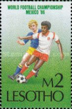 [Football World Cup - Mexico 1986, Typ UA]