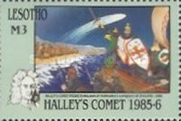 [Appearance of Halley's Comet, Typ UF]