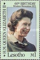 [The 60th Anniversary of the Birth of Queen Elizabeth II, Typ UN]