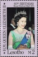 [The 60th Anniversary of the Birth of Queen Elizabeth II, Typ UO]