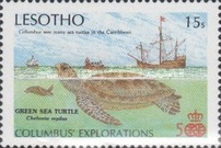 [The 500th Anniversary of Discovery America - Fauna, type XQ]