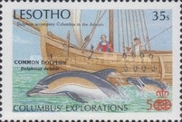 [The 500th Anniversary of Discovery America - Fauna, type XR]