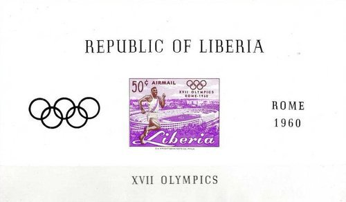 [Airmail - Olympic Games - Rome, Italy, type ]