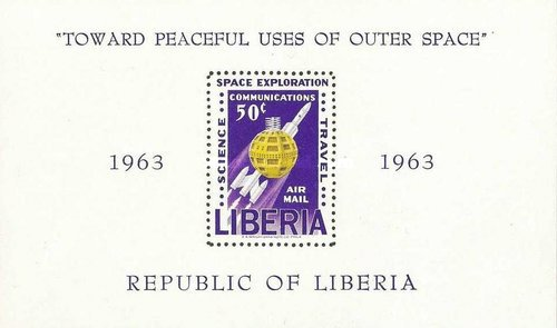 [Airmail - Exploration and Utilization of Outer Space, type ]