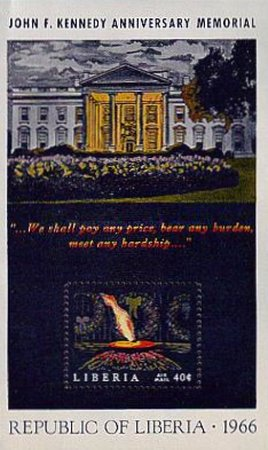 [Airmail - The 3rd Anniversary of the Death of John F. Kennedy, type ]