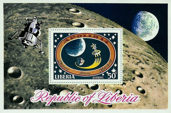 [Airmail - The 3rd Manned Moon Landing - Apollo 14, type ]