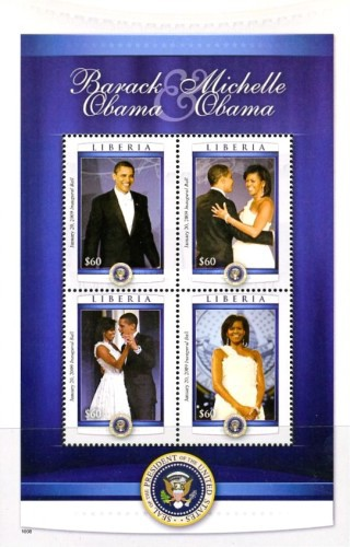 [Barack and Michelle Obama, type ]