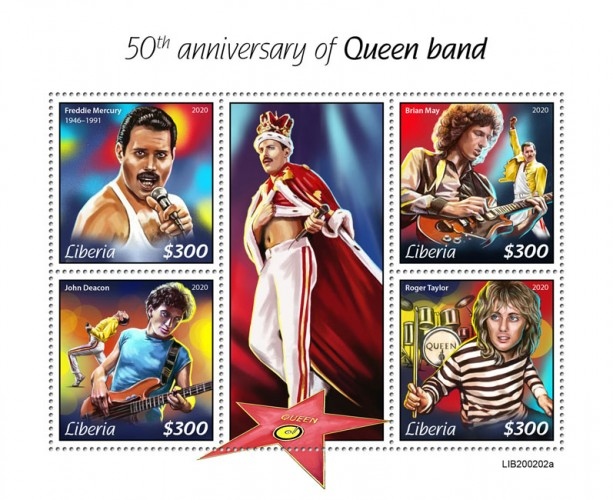 [The 50th Anniversary of the Queen Band, type ]