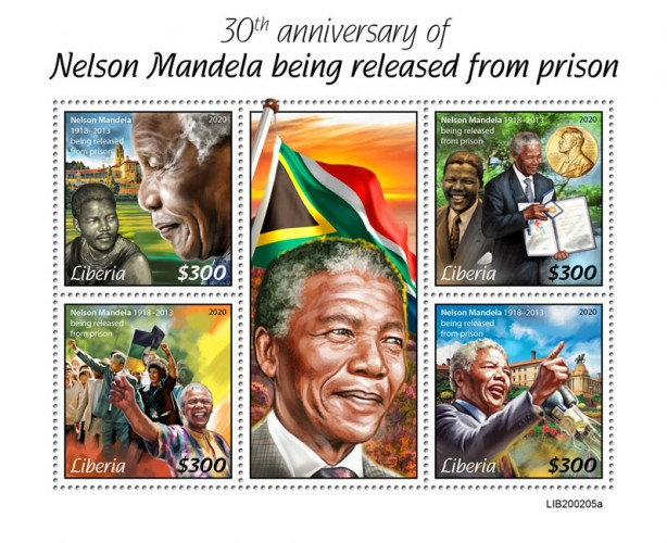 [The 30th Anniversary of Nelson Mandela Being Released from Prison, type ]