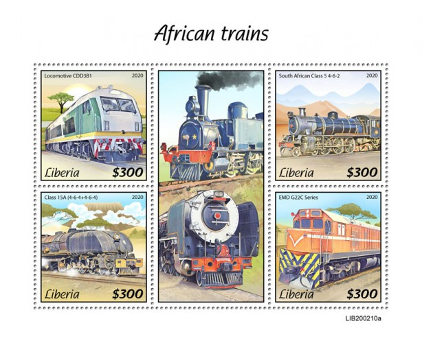 [Transportation - African Trains, type ]
