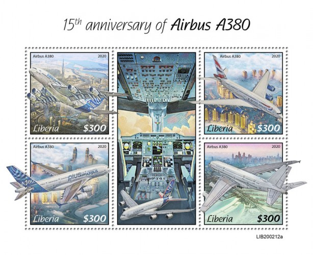 [Transportation - The 15th Anniversary of the Airbus A380, type ]