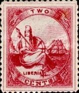 [Liberia - New Values & Colors, type A10]