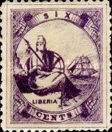 [Liberia - New Values & Colors, type A11]