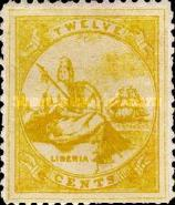[Liberia - New Values & Colors, type A12]