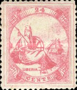 [Liberia - New Values & Colors, type A13]