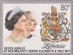 [The 25th Anniversary of Regency of Queen Elizabeth II, type ABW]