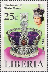 [The 25th Anniversary of the Coronation of Queen Elizabeth II, type ACZ]