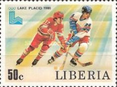 [Winter Olympic Games - Lake Placid, U.S.A., type AHB]