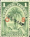 [Official Stamps Overprinted