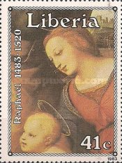 [The 500th Anniversary of the Birth of Raphael, 1483-1520, type ALF]