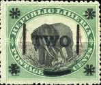 [Postage and Postage Due Stamps Surcharged, type AN3]