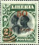 [Stamps of 1906 Surcharged, type BV]