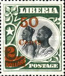 [Stamps of 1906 Surcharged, type BW]