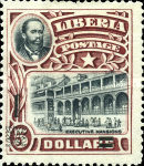 [Stamps of 1906 Surcharged, type BX]