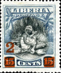 [Stamps of 1909 Surcharged, type BZ]