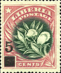 [Stamps of 1909 Surcharged, type CD]