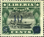 [Stamps of 1909 Surcharged, type CG2]