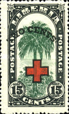 [Red Cross - No. 213-225 Surcharged, type EG4]