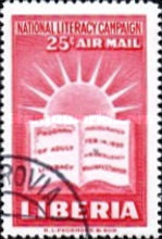 [Airmail - National Literacy Campaign, type GI]