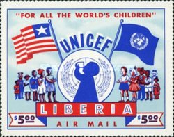 [Airmail - Promotion of UNICEF, type HO]