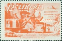 [Airmail - Visit of President Tubman to U.S.A., type HT]