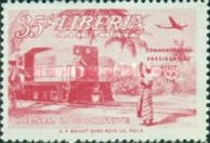 [Airmail - Visit of President Tubman to U.S.A., type HV]