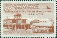 [Airmail - Visit of President Tubman to U.S.A., type HX]