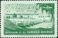 [Airmail - Visit of President Tubman to U.S.A., type HY]