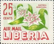[Airmail - Flowers, type IK]