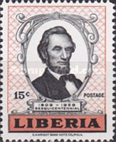 [The 150th Anniversary of the Birth of Abraham Lincoln, type KK1]