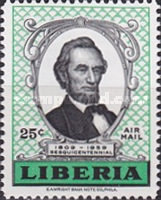 [Airmail - The 150th Anniversary of the Birth of Abraham Lincoln, type KK2]