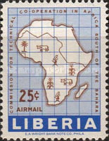 [Airmail - The 10th Anniversary of African Technical Co-operation Commission, type KQ]