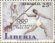 [Airmail - Olympic Games - Rome, Italy, type KU]