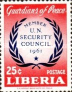 [Liberia's Membership in the Security Council, type KX]