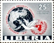 [Airmail - Liberia's Membership in the Security Council, type KY]