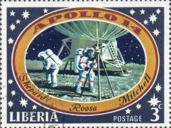 [The 3rd Manned Moon Landing - Apollo 14, type SK]